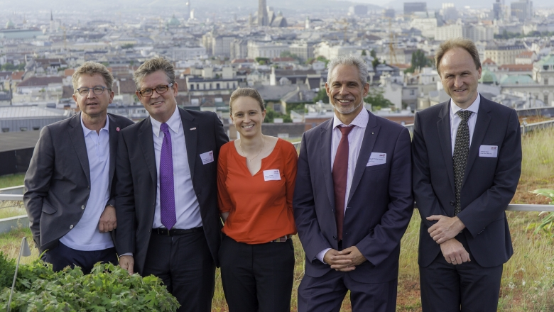 Stephan Häbich, Urs Weber, Melanie Ambros, Dr. med. Andrea Vincenzo Braga, Andreas Hauer
