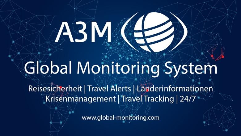 A3M Firmenlogo und Claim
