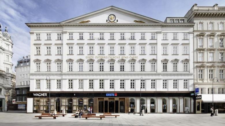 Foto vom Gebäude des Erste Bank Hauptsitzes