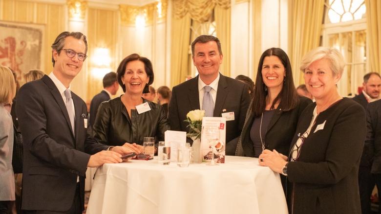 Angelika Moosleithner, Irene Kiefer, HKSÖL, Friends 4 Friends, Business, Hotel Savoy Zürich