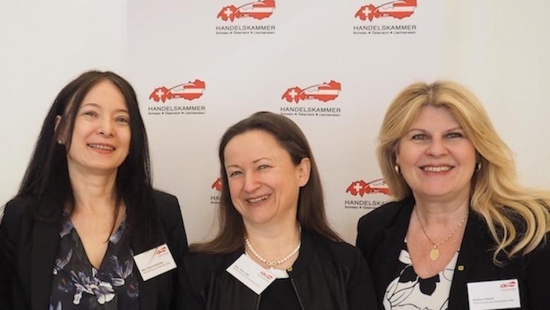 Das Team der Österreichischen Krebshilfe Wien: Gaby Sonnbichler, Karin Isak, Bettina Fritschi