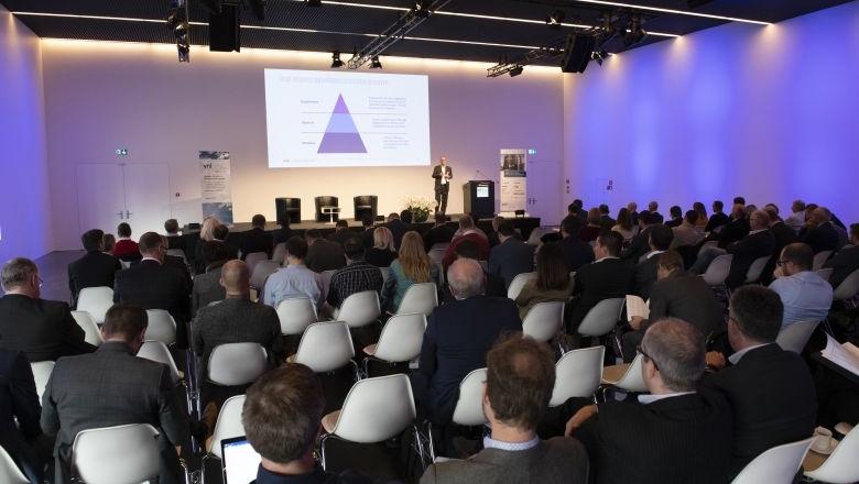 Teilnehmer am Vortrag beim Logistik-Forum Schweiz 2018