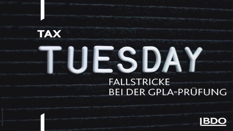 Tax Tuesday Logo