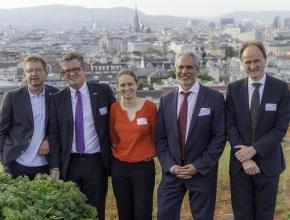 Stephan Häbich, Urs Weber, Melanie Ambros, Dr. med. Andrea Vincenzo Braga, Andreas Hauer