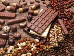 Schokolade der Firma Bühler