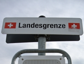 Grenzübertritt Schweiz