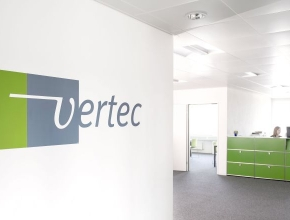 Empfangsbereich der Vertec GmbH