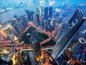 Skyline von Shanghai bei Nacht ©iStock by getty/E+