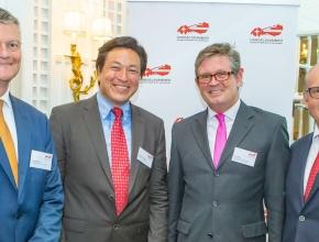 Bernhard Fäh, Mortimer Schulz, Urs Weber, Daniel Lipp