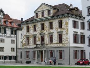 Gebäude der Industrie- und Handelskammer von St.Gallen